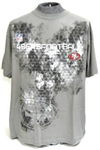 49ers Tee shirt grey large