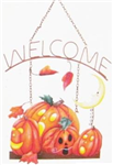 KF002 - fall-welcome-sign-fright-night-pumpkins