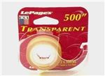 00023 - Tape Transparent 1/2in x 500in