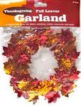Thanksgiving garland leaves 9ft