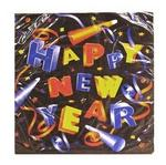 New Year napkins luncheon 16ct