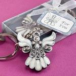6532 - Keychain angel pewter/expoy