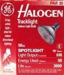 14023 812 - Light bulb halogen track spotlight 50watt