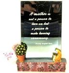 11671 - Mother's Day mirror w/saying