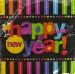 NY149033 - New Year Luncheon Napkins 16ct PPR