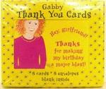 4702 - Thank You Cards Gabby Blank 8ct