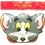 02393 - Party Visors Tom and Jerry 8ct