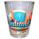 18014IN - Indiana shot glass elements