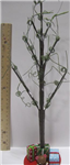 Chr decor tree w/ curly branches