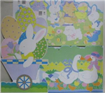 00031E - Easter prints two-sided asst