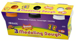 3312 - Modeling dough 5oz 3ct multi color