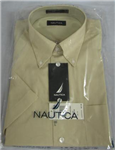 46934 - Shirt nautica beige short sleeve