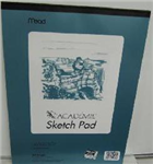 54056 1820 - SKETCH PAD 9X 12 50 SHEETS