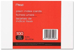 63006 1540 - index-cards-plain-4x6-100ct