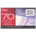 63140 1540 - index-cards-ruled-70-ct-3x5