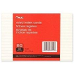 63460 1540 - index-cards-ruled-50ct-4x6