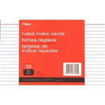 63580 1540 - index-cards-ruled-25ct-5x8