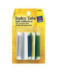 82000 9080 - Index tabs colored 1-3/4in 20ct