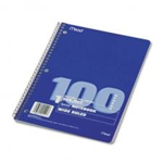 05514 1540 - spiral-notebook-wr-1h-100ct-10-12x8-special-order