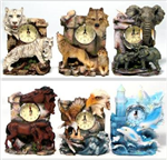 PDB-97 - Clock animal 6 styles 6.75in