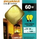 10390 -Light bulb bug 60W sylvania 2pk